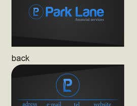 #29 para Business Card Design for Park Lane Financial por CGSaba