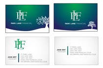 Contest Entry #5 for Business Card Design for Park Lane Financial