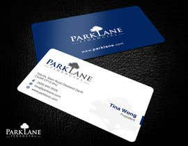 #14 para Business Card Design for Park Lane Financial por Brandwar