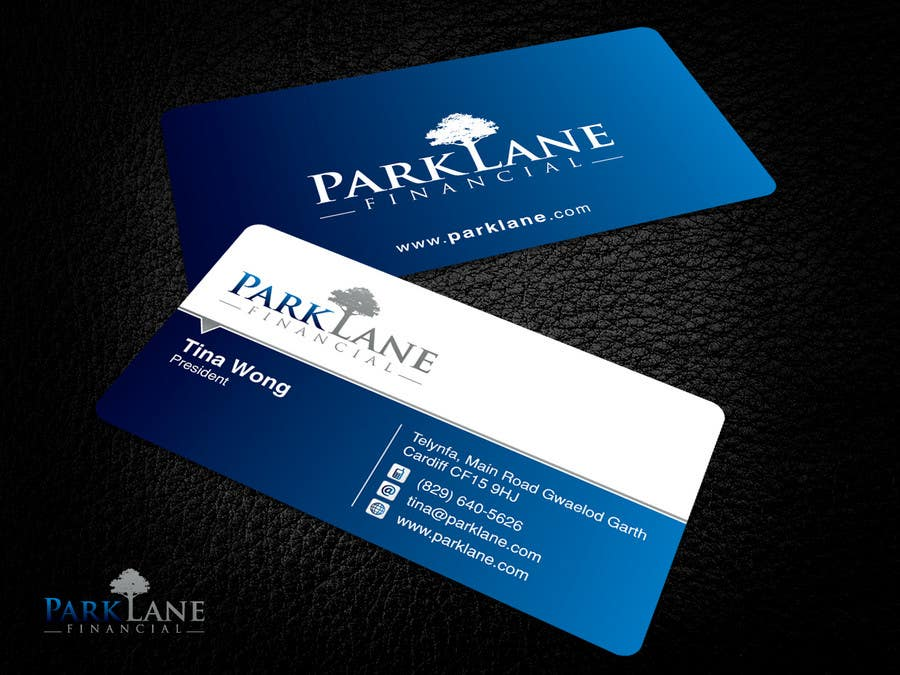 #12 for Business Card Design for Park Lane Financial by Brandwar