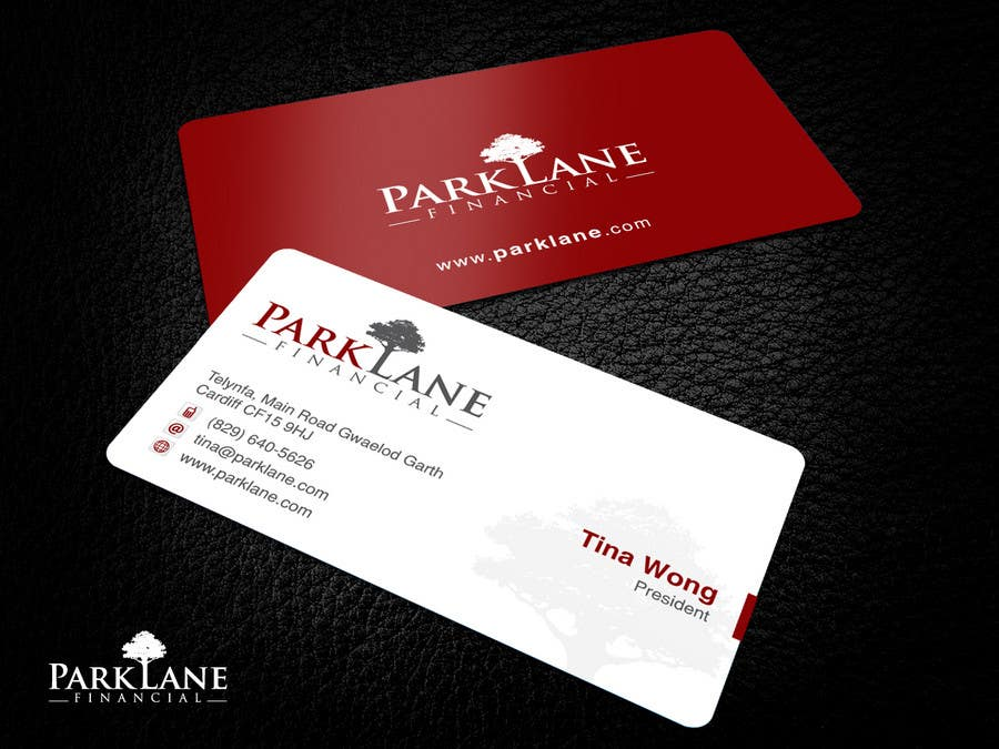 #13 for Business Card Design for Park Lane Financial by Brandwar