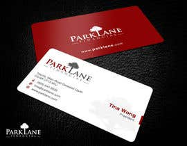 #13 untuk Business Card Design for Park Lane Financial oleh Brandwar