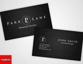 nº 11 pour Business Card Design for Park Lane Financial par madotta
