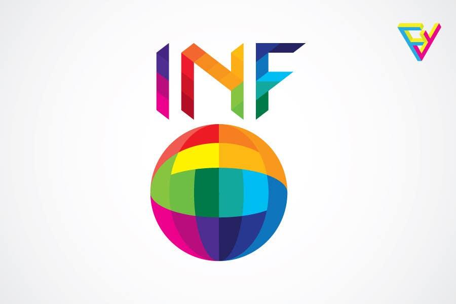 Inscrição nº                                         22                                      do Concurso para                                         Logo Design for INF World Company