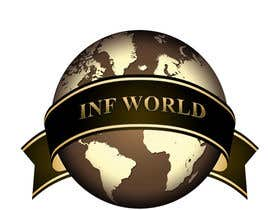 #21 para Logo Design for INF World Company por MiltonVelosa