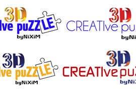 donmute tarafından Logo Design for: creative 3D puzzle by NiXiM için no 16