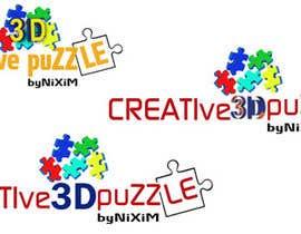 donmute tarafından Logo Design for: creative 3D puzzle by NiXiM için no 37