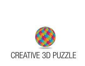donmute tarafından Logo Design for: creative 3D puzzle by NiXiM için no 54