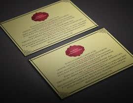 BikashBapon tarafından Golden ticket wedding invitation için no 1