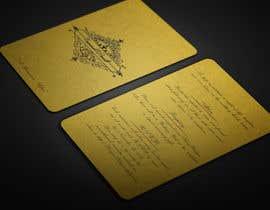 BikashBapon tarafından Golden ticket wedding invitation için no 9