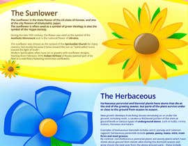 #36 for Infographic about Flowers af Patrycjapati