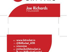 resistantdesign tarafından Design some Business Cards for Bitcoin company için no 12