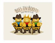 Graphic Design Contest Entry #137 for Bees in Boots Logo Design