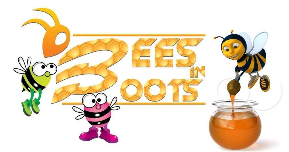 Inscrição nº                                         124                                      do Concurso para                                         Bees in Boots Logo Design