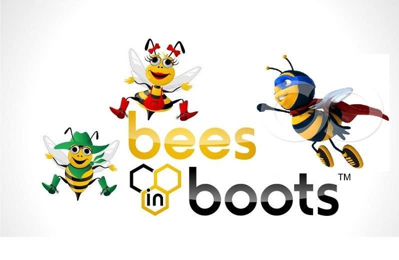 Inscrição nº                                         126                                      do Concurso para                                         Bees in Boots Logo Design