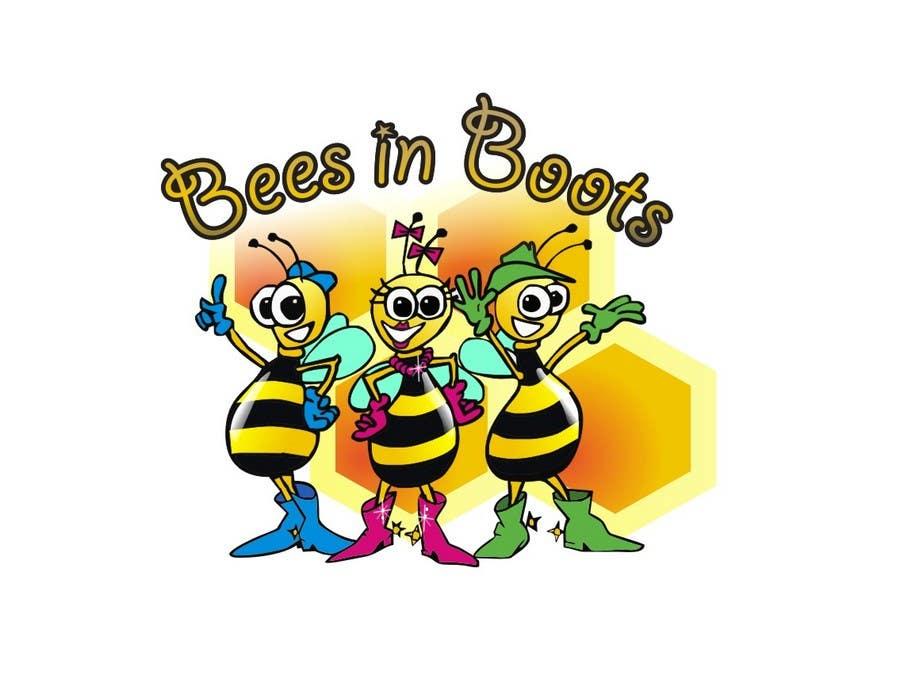 Inscrição nº                                         113                                      do Concurso para                                         Bees in Boots Logo Design