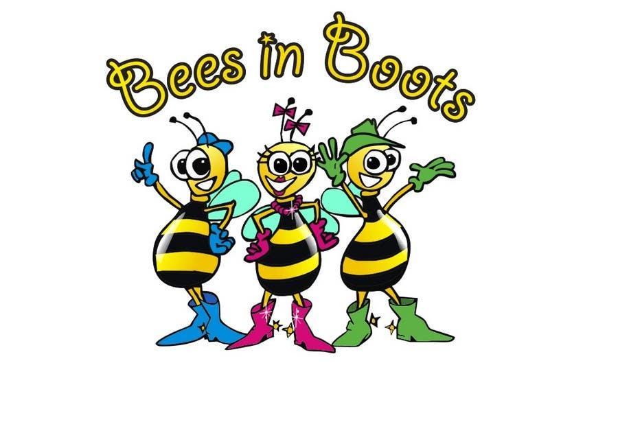 Inscrição nº                                         63                                      do Concurso para                                         Bees in Boots Logo Design