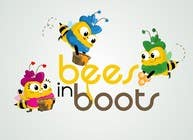 Graphic Design Contest Entry #64 for Bees in Boots Logo Design