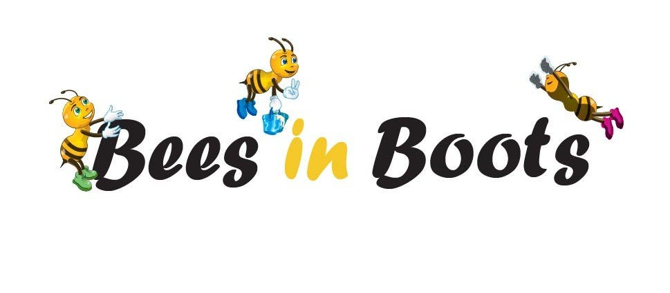Contest Entry #24 for Bees in Boots Logo Design