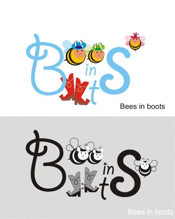 Inscrição nº                                         58                                      do Concurso para                                         Bees in Boots Logo Design
