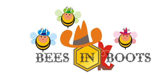 Logo Design Contest Entry #53 for Bees in Boots Logo Design