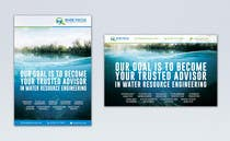 Graphic Design Konkurrenceindlæg #43 for Design Advertisements for a Water Resources Consulting Firm