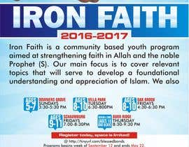 dekaszhilarious tarafından Flyer Iron Faith 2016-2017 için no 11