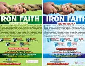 dekaszhilarious tarafından Flyer Iron Faith 2016-2017 için no 20