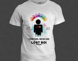 sumonaafroje27 tarafından Design T-Shirts For New LGBTQA+ Apparel Company için no 18