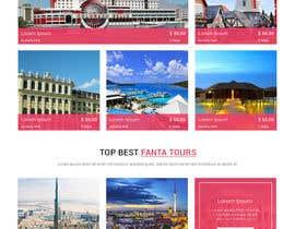 IT4BSsystem tarafından Design a Travel Agency Website Mockup için no 14