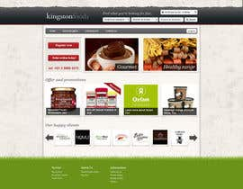 #5 untuk Website Design for Kingston Foods Australia oleh TebbsDesign