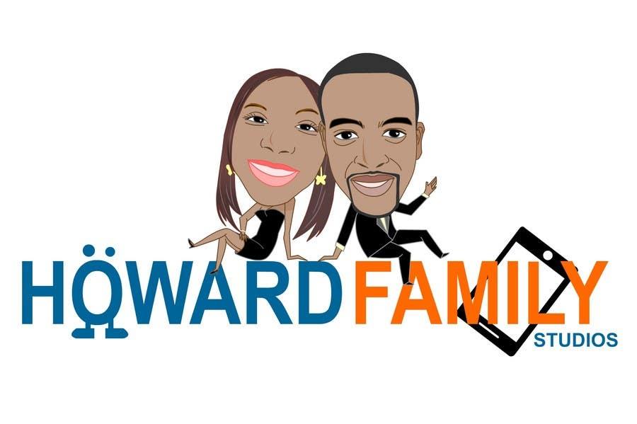 Kilpailutyö #                                        231                                      kilpailussa                                         Logo Design for Howard Family Studios
