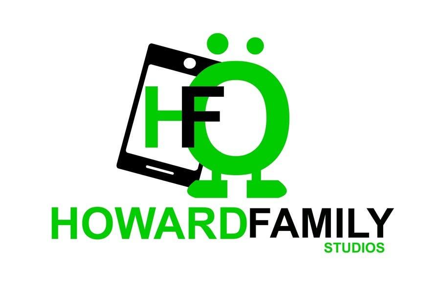 Kilpailutyö #                                        229                                      kilpailussa                                         Logo Design for Howard Family Studios