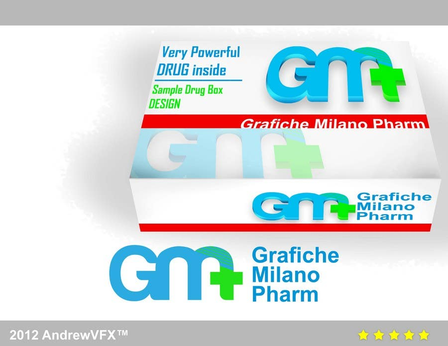 Contest Entry #50 for Logo Design for Grafiche Milano Pharm