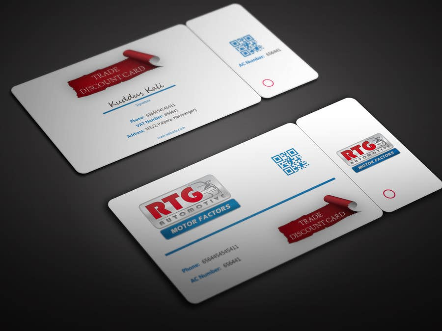 Entry #1 by BikashBapon for Design some Discount Trade Loyalty ...