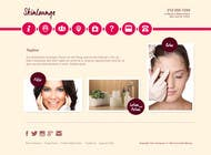 Contest Entry #5 for Design a Website Mockup for beauty spa site