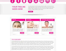 #9 for Design a Website Mockup for beauty spa site by gravitygraphics7