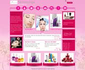 Contest Entry #3 for Design a Website Mockup for beauty spa site