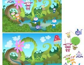 #52 cho Kids Puzzle Scenery / Multiple (potentially many) bidders will be selected bởi toonster