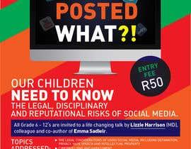 VisualandPrint tarafından POSTER TO PROMOTE A SAFE SOCIAL MEDIA TALK AT A SCHOOL için no 10
