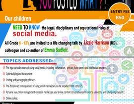 maatru tarafından POSTER TO PROMOTE A SAFE SOCIAL MEDIA TALK AT A SCHOOL için no 20