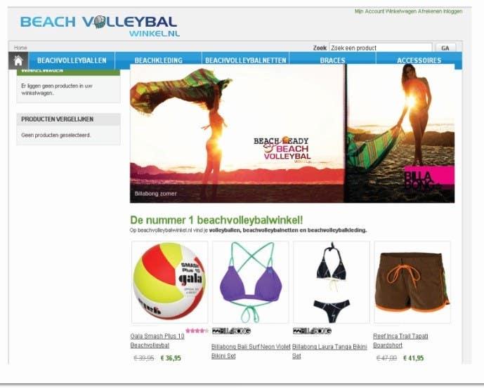 Inscrição nº 242 do Concurso para Logo Design for Beachvolleybalwinkel.nl