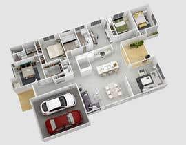 rezonbd tarafından 3D plan for a ski apartment için no 3