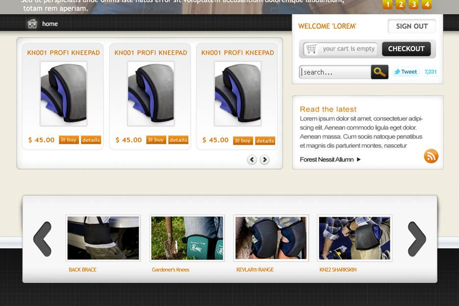 Συμμετοχή Διαγωνισμού #32 για Website Design for KNEETEK.NET