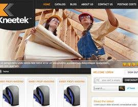 nº 59 pour Website Design for KNEETEK.NET par cnlbuy