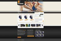 Website Design Entri Kontes #58 untuk Website Design for KNEETEK.NET