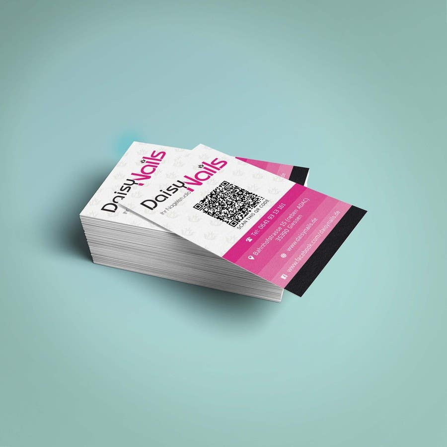 #105 for Design some Business Cards for Nails Studio by salmanshaikh14