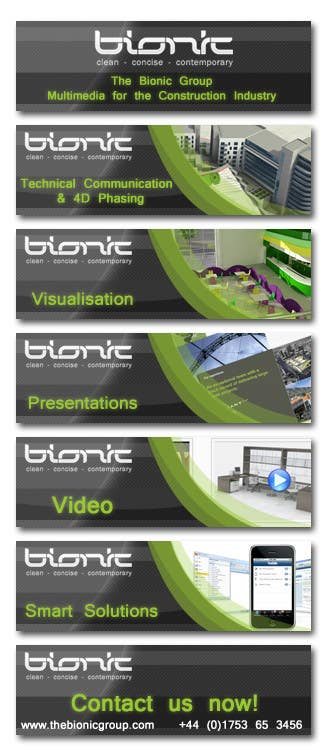 #38 for Banner Ad Design for The Bionic Group by Freelancer0070