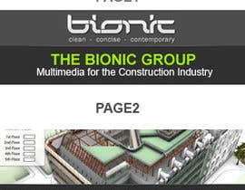 nº 46 pour Banner Ad Design for The Bionic Group par dreamsweb