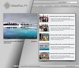 #10 for Website Design for KHAAFILA.TV  and HIJRAH.TV online televisions by danailacatalin
